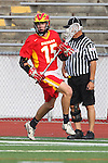 Mission Viejo, CA 05/14/11 - Alex Truman (Mission Viejo #15) in action during the Division 2 US Lacrosse / CIF Southern Section Championship game between Mission Viejo and Loyola at Redondo Union High School.