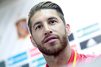 Spain's Sergio Ramos in press conference before training session. October 5,2017.(ALTERPHOTOS/Acero)<br /> <br /> Foto Alterphotos / Insidefoto <br /> ITALY ONLY