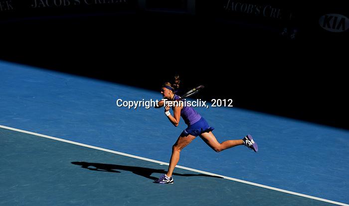 Petra Kvitova loses her bid to reach the 2012 Australian Open Final in Melbourne Australia on January 26, 2012