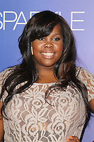HOLLYWOOD, CA - AUGUST 16: Amber Riley at the 'Sparkle' film premiere at Grauman's Chinese Theatre on August 16, 2012 in Hollywood, California. © mpi26/MediaPunch Inc. /NortePhoto.com<br />