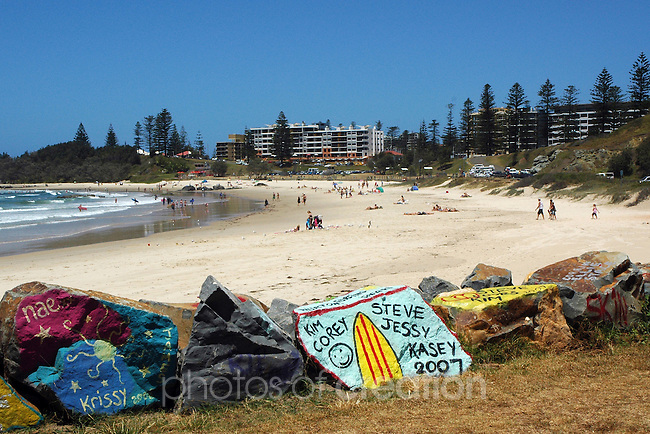 Town Beach Port Macquarie. NSW