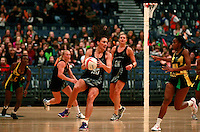 17.1.2014 New Zealand's Joline Henry in action against Jamaica during their netball test match in London, England. Mandatory Photo Credit (Pic: Tim Hales). ©Michael Bradley Photography.