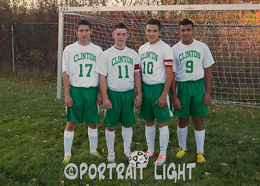CHS seniors (from left) Helvert Martinez, Ardell Spinder, Igor Rosa and Hasan Sabri.