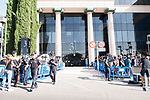 The press waiting  before the testimony of Real Madrid's player Cristiano Ronaldo at Trial Court in Madrid, July 31, 2017. Spain.<br /> (ALTERPHOTOS/BorjaB.Hojas)