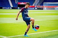 Neymar Jr (PSG)<br /> 04-08-2017 <br /> Parigi Presentazione nuovo acquisto Neymar <br /> Calcio Ligue 1 2017/2018 <br /> Foto JB Autissier/ Panoramic/Insidefoto