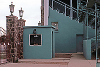Ballparks: Alpine, TX. Kokernot Field, Box Office and Entrance.