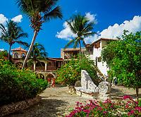 Dominikanische Republik, Altos de Chavon, Kuenstlerdorf   Dominican Republic, Altos de Chavon, artist's village