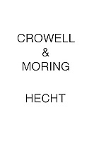 Crowell & Moring HECHT