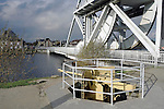 Pegasus Bridge over the Caen Canal, Benouville, France
