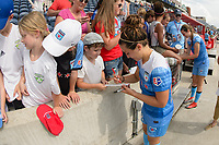 Bridgeview, IL - Sunday June 04, 2017: Danielle Colaprico during a regular season National Women's Soccer League (NWSL) match between the Chicago Red Stars and the Seattle Reign FC at Toyota Park. The Red Stars won 1-0.