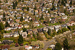 Aerial View of Alameda Ridge, Portland, Oregon