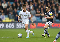 Leeds United's Kalvin Phillips and Millwall's Tom Bradshaw<br /> <br /> Photographer Rob Newell/CameraSport<br /> <br /> The EFL Sky Bet Championship - Millwall v Leeds United - Saturday 5th October 2019 - The Den - London<br /> <br /> World Copyright © 2019 CameraSport. All rights reserved. 43 Linden Ave. Countesthorpe. Leicester. England. LE8 5PG - Tel: +44 (0) 116 277 4147 - admin@camerasport.com - www.camerasport.com