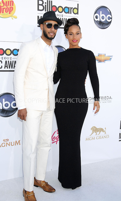 WWW.ACEPIXS.COM . . . . .  ..... . . . . US SALES ONLY . . . . .....May 20 2012, Las Vegas....Swizz Beatz and Alicia Keys at the 2012 Billboard Awards held at the MGM Hotel and Casino in on May 20 2012 in Las Vegas ....Please byline: FAMOUS-ACE PICTURES... . . . .  ....Ace Pictures, Inc:  ..Tel: (212) 243-8787..e-mail: info@acepixs.com..web: http://www.acepixs.com