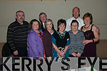 Lyre Contingent: Enjoying the NYE party held at St Senan's Clubhouse, Mountcoal, Listowel  were a group from Lyrecrompane :  Tom Lenihan, Patricia Lenihan, Michael Mangan, Chris Quinn, Jane Behan, Mary Mangan, Joe Harrington & Kay O'Leary.