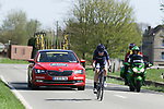 Doris Schweizer (SUI) Team Virtu Cycling in action during La Fleche Wallonne Femmes 2018 running 118.5km from Huy to Huy, Belgium. 18/04/2018.<br /> Picture: ASO/Thomas Maheux | Cyclefile.<br /> <br /> All photos usage must carry mandatory copyright credit (© Cyclefile | ASO/Thomas Maheux)