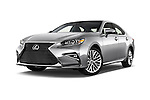Stock pictures of low aggressive front three quarter view of 2016 Lexus ES 350 4 Door Sedan 2WD Low Aggressive