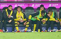 Mario GOETZE, BVB 10  substitution bench, <br /> FC BAYERN MUENCHEN - BORUSSIA DORTMUND 6-0<br /> Football 1. Bundesliga , Muenchen,31.03.2018, 28. match day,  2017/2018, , BVB<br />  *** Local Caption *** © pixathlon