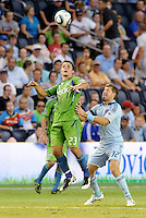 Sporting Kansas City were defeated 1-2 by Seattle Sounders at LIVESTRONG Sporting Park, Kansas City, Kansas.