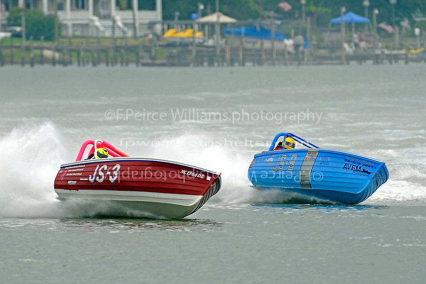 "JS-3 ""Making Memories""  and Robert Presley, Jr., JS-9   (Jersey Speed Skiff(s)"