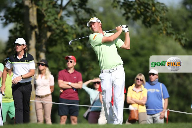 Marcel Sien (GER) did enough to play the weekend during Round Two of the 2015 BMW International Open at Golfclub Munchen Eichenried, Eichenried, Munich, Germany. 26/06/2015. Picture David Lloyd | www.golffile.ie