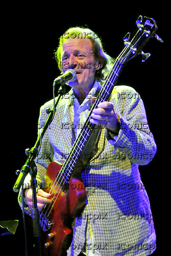 Bruce Trower Husband - bassist and vocalist Jack Bruce - performing live at Shepherds Bush Empire l, London - 05 August 2009<br /> .  Photo credit: George Chin/IconicPix