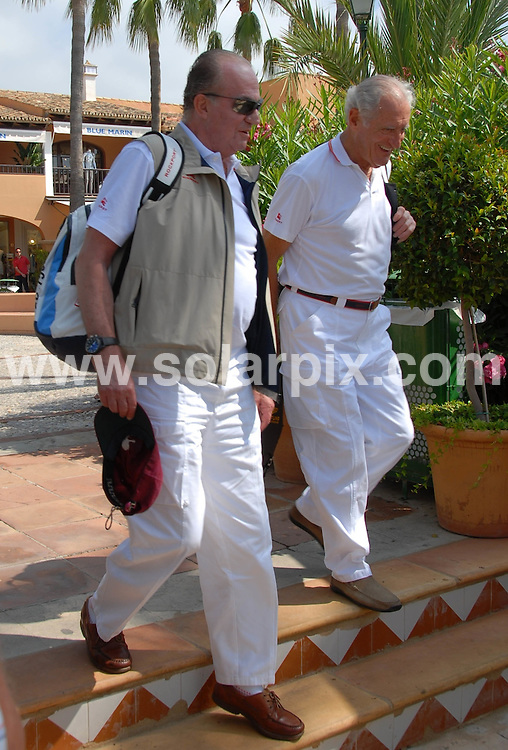 **ALL ROUND PICTURES FROM SOLARPIX.COM**.SYNDICATION RIGHTS FOR UK, CANADA, USA, SOUTH AFRICA, SOUTH AMERICA, DUBAI, AUSTRALIA, NEW ZEALAND, GREECE, ASIA.The Spanish King Juan Carlos in Palma de Mallorca , participating in the Breitling Ragatta and also the annual summer vacation of the Royal Family, The rest of the royal members will arrive in a few days time..JOB REF:4360-SPA     DATE:19-07_07.**MUST CREDIT SOLARPIX.COM OR DOUBLE FEE WILL BE CHARGED* *UNDER NO CIRCUMSTANCES IS THIS IMAGE TO BE REPRODUCED FOR ANY ONLINE EDITION WITHOUT PRIOR PERMISSION*
