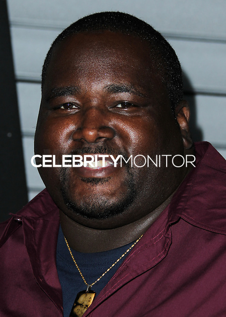 WEST HOLLYWOOD, CA, USA - JUNE 10: Quinton Aaron at the MAXIM Hot 100 Party held at the Pacific Design Center on June 10, 2014 in West Hollywood, California, United States. (Photo by Xavier Collin/Celebrity Monitor)