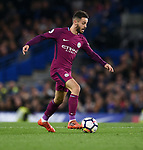 Bernardo Silva of Manchester City during the premier league match at the Stamford Bridge stadium, London. Picture date 30th September 2017. Picture credit should read: Robin Parker/Sportimage