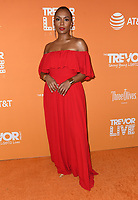 02 December 2018 - Beverly Hills, California - Janet Mock. 2018 TrevorLIVE Los Angeles held at The Beverly Hilton Hotel. <br /> CAP/ADM/BT<br /> &copy;BT/ADM/Capital Pictures