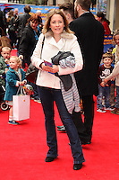 "Sarah Beeny arrives for the ""Postman Pat"" premiere at the Odeon West End, Leicester Square, London. 11/05/2014 Picture by: Steve Vas / Featureflash"