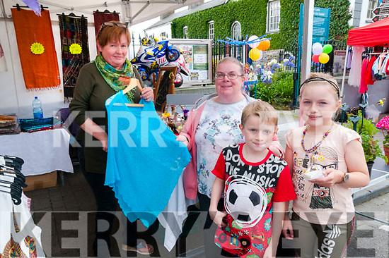 Craft Fair: Attending the craft fair at the Seanchai Centre in Listowel on Sunday last were Maria Dulka, Ardfert & Siobhan, Sean & Marie Leahy, Listowel.