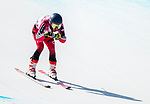 PyeongChang 11/3/2018 - Alexis Guimond skis in the men's standing super-G at the Jeongseon Alpine Centre during the 2018 Winter Paralympic Games in Pyeongchang, Korea. Photo: Dave Holland/Canadian Paralympic Committee