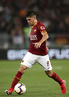 Football, Serie A: AS Roma - Parma, Olympic stadium, Rome, May 26, 2019. <br /> Roma's Diego Perotti in action during the Italian Serie A football match between Roma and Parma at Olympic stadium in Rome, on May 26, 2019.<br /> UPDATE IMAGES PRESS/Isabella Bonotto