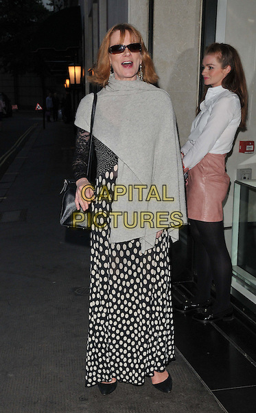 Samantha Bond attends the Downton Abbey Wrap Party, The Ivy Club, West Street, London, England, UK, on Saturday 15 August 2015. <br /> CAP/CAN<br /> &copy;Can Nguyen/Capital Pictures