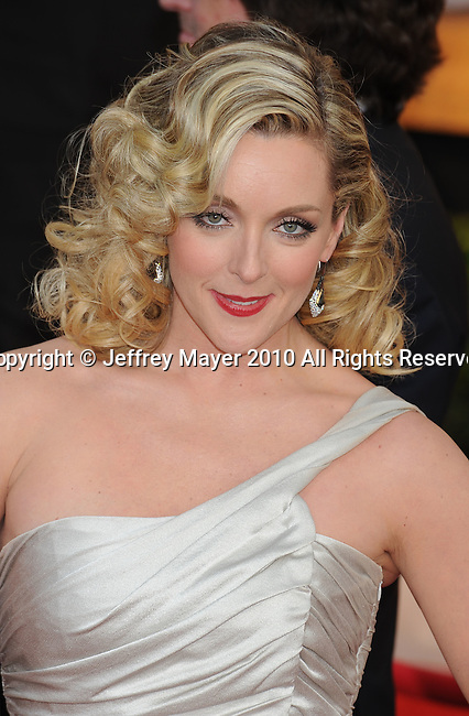 LOS ANGELES, CA. - January 23: Jane Krakowski  arrives at the 16th Annual Screen Actors Guild Awards held at The Shrine Auditorium on January 23, 2010 in Los Angeles, California.
