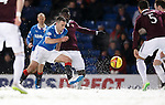 Lee Wallace dancing in the snow