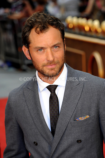 WWW.ACEPIXS.COM....US SALES ONLY....September 4, 2012, London, England.....Jude Law arriving at the World premiere of 'Anna Karenina' at the Odeon Leicester Square on September 4, 2012 in London, England...........By Line: Famous/ACE Pictures....ACE Pictures, Inc..Tel: 646 769 0430..Email: info@acepixs.com