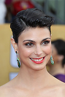 LOS ANGELES, CA - JANUARY 27: Morena Baccarin at The 19th Annual Screen Actors Guild Awards at the Los Angeles Shrine Exposition Center in Los Angeles, California. January 27, 2013. Credit: mpi27/MediaPunch Inc.