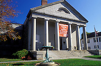 museum, Plymouth, Massachusetts, MA, Pilgrim Hall Museum in Plymouth in the autumn.