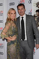 HOLLYWOOD, CA - NOVEMBER 09: Molly Sims, Scott Stuber at AFI Fest 2017 Opening Night Gala Screening Of Netflix's Mudbound at TCL Chinese Theatre on November 9, 2017 in Hollywood, California. Credit: David Edwards/MediaPunch /NortePhoto.com