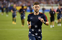 Philadelphia, PA - Wednesday July 19, 2017: Paul Arriola during a 2017 Gold Cup match between the men's national teams of the United States (USA) and El Salvador (SLV) at Lincoln Financial Field.