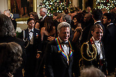 Actor Dustin Hoffman departs the Kennedy Center Honors reception at the White House on December 2, 2012 in Washington, DC. The Kennedy Center Honors recognized seven individuals - Buddy Guy, Dustin Hoffman, David Letterman, Natalia Makarova, John Paul Jones, Jimmy Page, and Robert Plant - for their lifetime contributions to American culture through the performing arts..Credit: Brendan Hoffman / Pool via CNP
