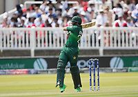 Imam-ul-Haq (Pakistan) pulls to the mid wicket boundary for four runs during Pakistan vs Bangladesh, ICC World Cup Cricket at Lord's Cricket Ground on 5th July 2019