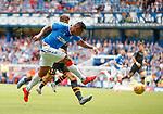 14.07.2019: Rangers v Marseille: Alfredo Morelos with a shot