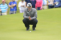 Paul Waring (ENG) on the 17th green during Saturday's Round 3 of the Dubai Duty Free Irish Open 2019, held at Lahinch Golf Club, Lahinch, Ireland. 6th July 2019.<br /> Picture: Eoin Clarke | Golffile<br /> <br /> <br /> All photos usage must carry mandatory copyright credit (© Golffile | Eoin Clarke)