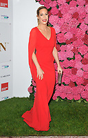 Laura Pradelska at the Remembering Audrey Hepburn charity gala celebrating the life of the late actress, Royal Lancaster Hotel, Lancaster Terrace, London, England, UK, on Saturday 06 October 2018.<br /> CAP/CAN<br /> &copy;CAN/Capital Pictures