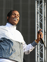 ASAP ROCKY (A$AP ROCKY) performs during The New Look Wireless Music Festival at Finsbury Park, London, England on Friday 03 July 2015. Photo by Andy Rowland.