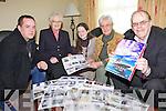 HISTORY: Preparing for the publication of the latest edition of the Abbeyfeale local history and folklore magazine this week were, l-r: Conor Dennison, Sr. Delia Curtin, Ríona Ní Churtáin, Margaret O'Shea, John O'Sullivan.