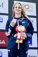 MATTS Katie GBR<br /> 100 Breaststroke Women Final Bronze Medal<br /> Day04 28/08/2015 - OCBC Aquatic Center<br /> V FINA World Junior Swimming Championships<br /> Singapore SIN  Aug. 25-30 2015 <br /> Photo A.Masini/Deepbluemedia/Insidefoto