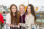 Mia Duggan, Erin Stack and Lianne Barrett. enjoying the Ballyheigue Festival on Sunday